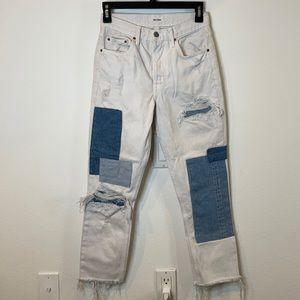 Grlfrnd Karolina Patchwork Jeans